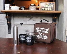 【CAPTAINS HELM】#PORTABLE HAND DRIP COFFEE SET